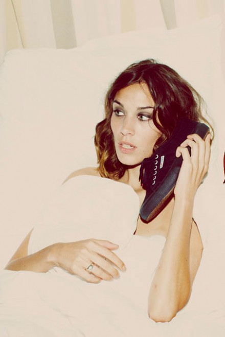 Alexa Chung for Superga spring/summer 2012
