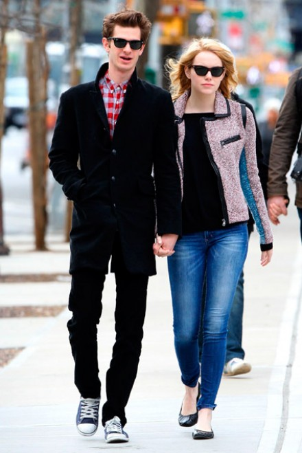 are emma stone and andrew garfield still dating
