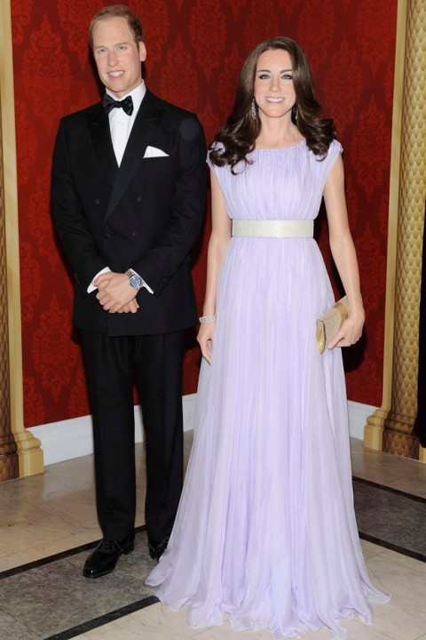 The Duke and Duchess of Cambridge - Celebrity Waxworks - Marie Claire - Marie Claire UK
