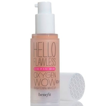 Benefit Hello Flawless Oxygen Wow Makeup, £24.50 - best foundations for oily skin - make-up - beauty - marie claire