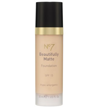 No7 Beautifully Matte Foundation, &pound;13.50 - best foundations for oily skin - make-up - beauty - marie claire