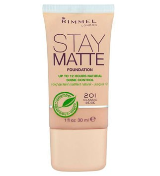 Rimmel Stay Matte Foundation, £5.99 - best foundations for oily skin - make-up - beauty - marie claire
