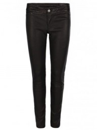 All Saints cropped leather skinny trousers - fashion buy of the day - shopping