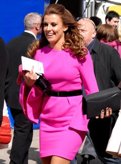Coleen Rooney - Aintree Races - The Grand National - Marie Claire - Marie Claire UK
