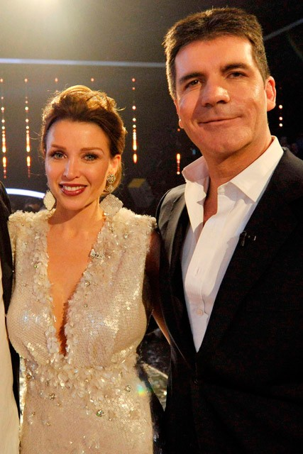 Dannii Minogue and Simon Cowell - Dannii Minogue and Simon Cowell affair - X Factor Photos - Marie Claire - Marie Claire UK