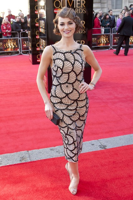 Olivier Awards 2012, Olivier Awards, Olivier Awards winners, Olivier Awards pictures, Olivier Awards fashion, Olivier Awards style, Olivier Awards news, Olivier Awards celebrities, Ronan Keeting, Kara Tointon, Kimberley Walsh, Jonny Lee Miller, Douglas Bo