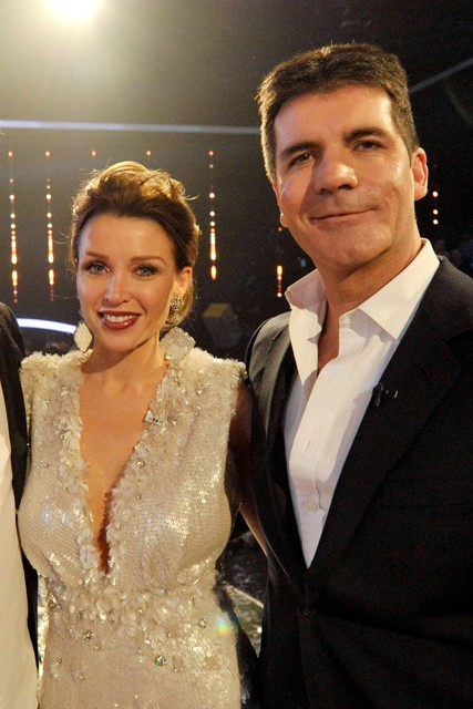 Simon Cowell, Dannii Minogue, Simon Cowell and Dannii Minogue, Max Clifford, Simon Cowell and Dannii Mingoue dating, Dannii Mingoue and Simon Cowell affair, Simon Cowell biography, Simon Cowell book, The Intimate Life Of Simon Cowell, Tom Bower, X Factor
