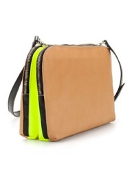 Zara Neon Messenger Bag, Zara, Zara fashion, bags, cool bags, fashion, style, best fashion buys, Zara bags, best Zara items, Marie Claire fashion