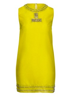 H&M Neon dress, £59.99 - Marie Claire