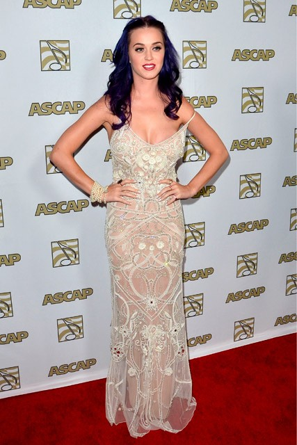 Katy Perry - 2012 ASCAP Pop Music Awards - Red carpet photos - Marie Claire - Marie Claire UK