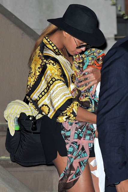 Beyonce, Beyonce Blue Ivy, Blue Ivy, Beyonce fashion, Beyonce style, Beyonce baby, Beyonce daughter, Beyonce Jay Z, Jay Z, Blue Ivy Carter, Roberto Cavalli, Beyonce designer wardrobe, Beyonce sister, Beyonce Knowles, Solange Knowles, Beyonce baby fashion