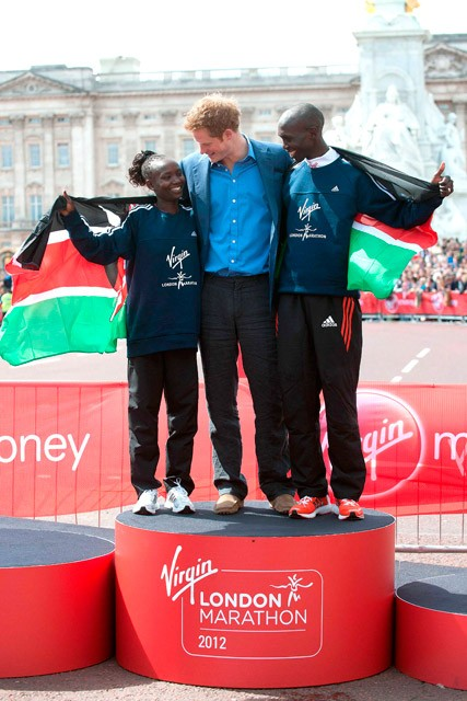 Prince Harry - London Marathon 2012 - Marie Claire - Marie Claire UK