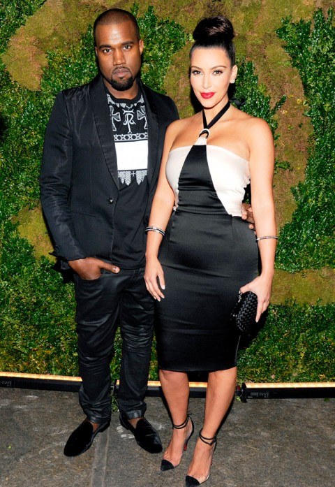 Kim Kardashian and Kanye West - Chanel Tribeca Dinner - Marie Claire - Marie Claire UK