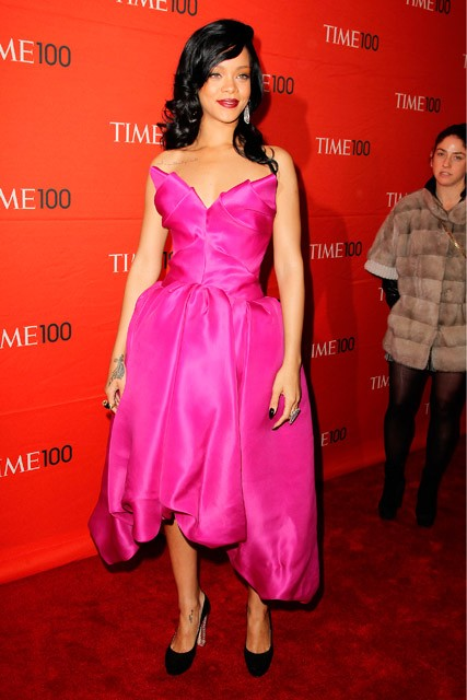 Rihanna - Time magazine's 100 most influential people gala - Marie Claire - Marie Claire UK