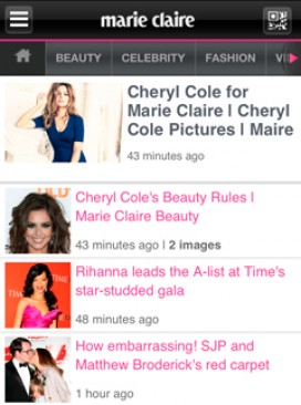 Download the new marieclaire.co.uk free reader app 