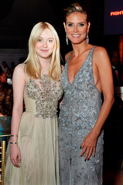 Heidi Klum & Dakota Fanning - Annual Gala Linked Against Blood Cancer - Marie Claire - Marie Claire UK