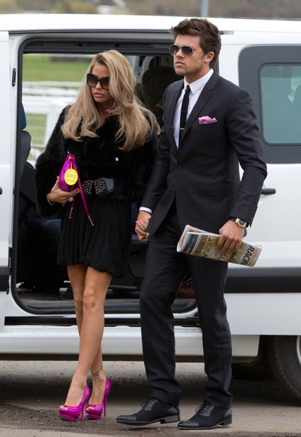 Katie Price and Leandro Penna engaged