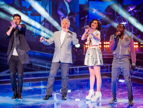 The Voice UK - Live Shows - Jessie J - Will.i.am - Marie Claire - Marie Claire UK