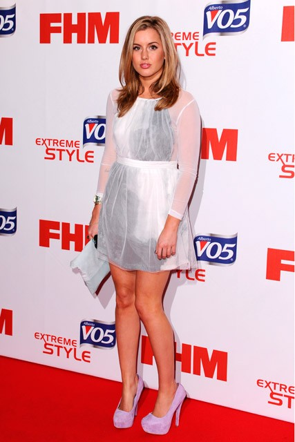 Caggie Dunlop - FHM sexiest women in the world party - Marie Claire - Marie Claire UK