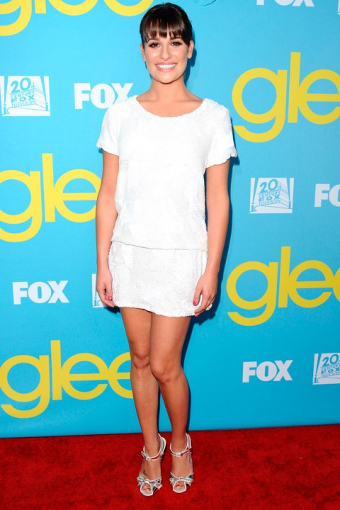 Lea Michele - Glee Academy Screening - Glee Season 3 - Marie Claire - Marie Claire UK