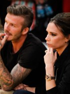 David & Victoria Beckham - David Beckham - Victoria Beckham - PICS: David & Victoria Beckham cosy up on LA Lakers date night - Marie Claire - Marie Claire UK