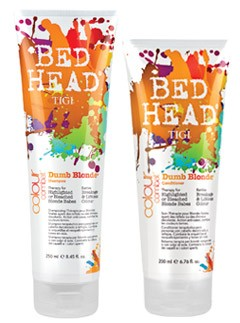 Tigi Dumb Blonde shampoo and conditioner - beauty buy of the day