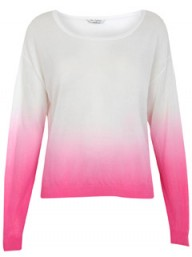 Miss Selfridge dip dye jumper - fashion buy of the day