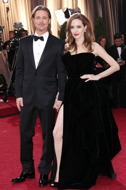 Brad Pitt and Angelina Jolie spark wedding rumours