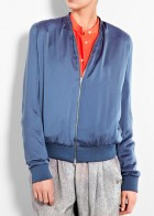 Acne bomber jacket, �240 - sport luxe - designer fashion - shopping - marie claire