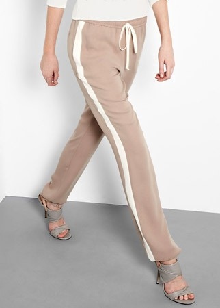 Joseph silk crepe joggers, &pound;335 - sport luxe - designer fashion - shopping - marie claire