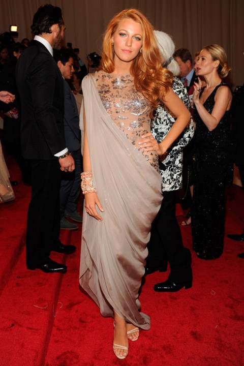 Blake Lively at the Met Ball