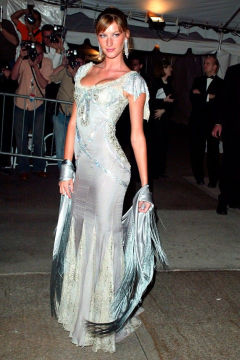 Gisele Bundchen at the Met Ball