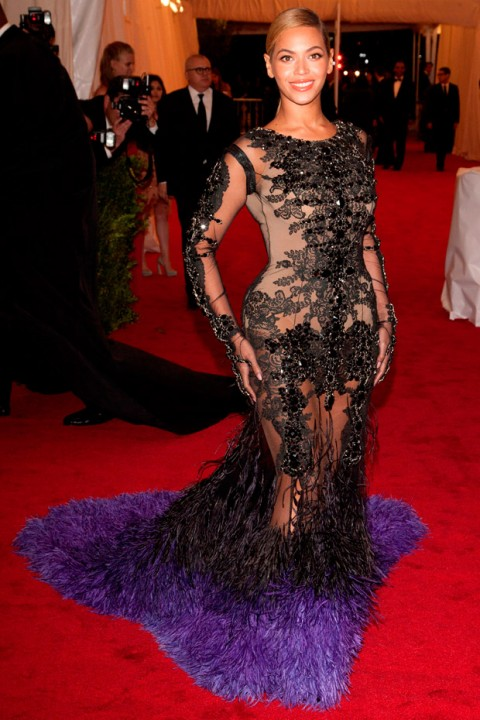 Beyonce at the Met Ball 2012 - Costume Institute Gala - Marie Claire