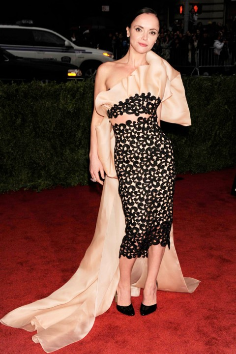 Christina Ricci at the Met Ball 2012 - Costume Institute Gala - Marie Claire