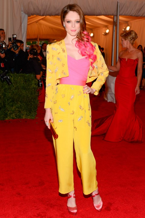 Coco Rocha at the Met Ball 2012 - Costume Institute Gala - Marie Claire