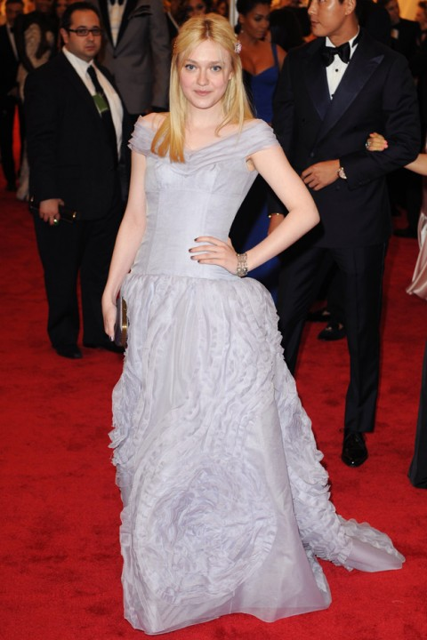 Dakota Fanning at the Met Ball 2012 - Costume Institute Gala - Marie Claire