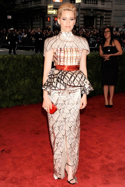 Elizabeth Banks at the Met Ball 2012 - Costume Institute Gala - Marie Claire