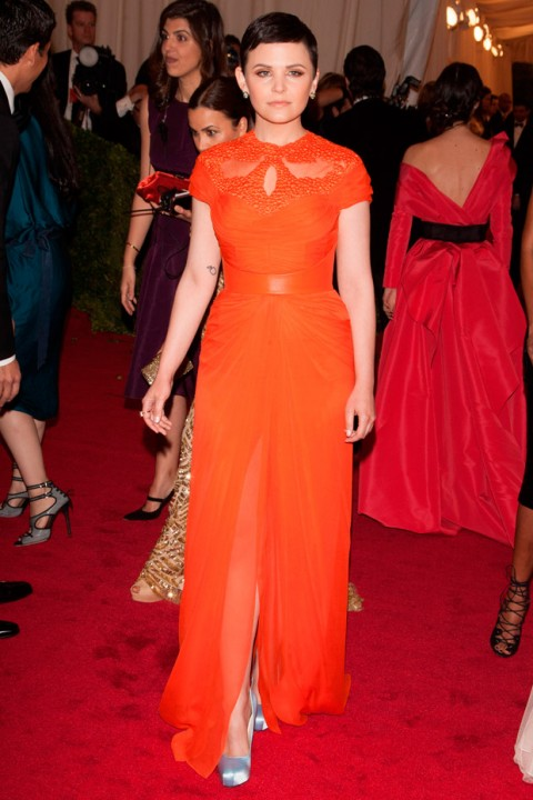 Ginnifer Goodwin at the Met Ball 2012 - Costume Institute Gala - Marie Claire