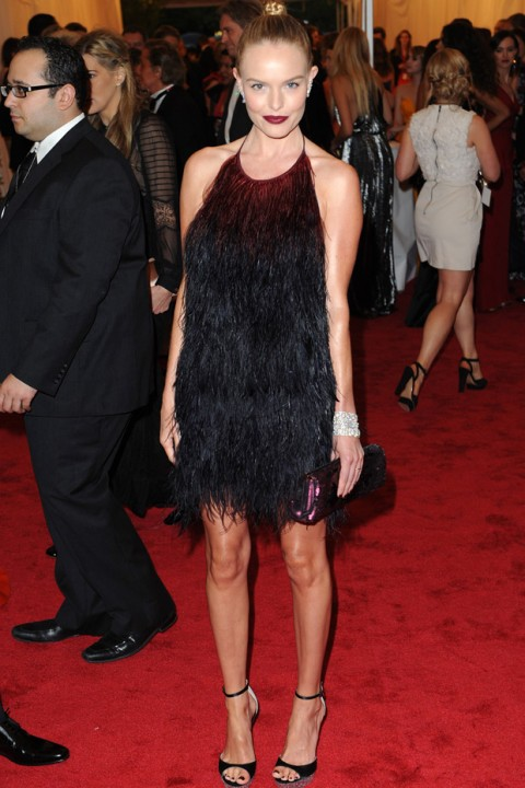 Kate Bosworth at the Met Ball 2012 - Costume Institute Gala - Marie Claire