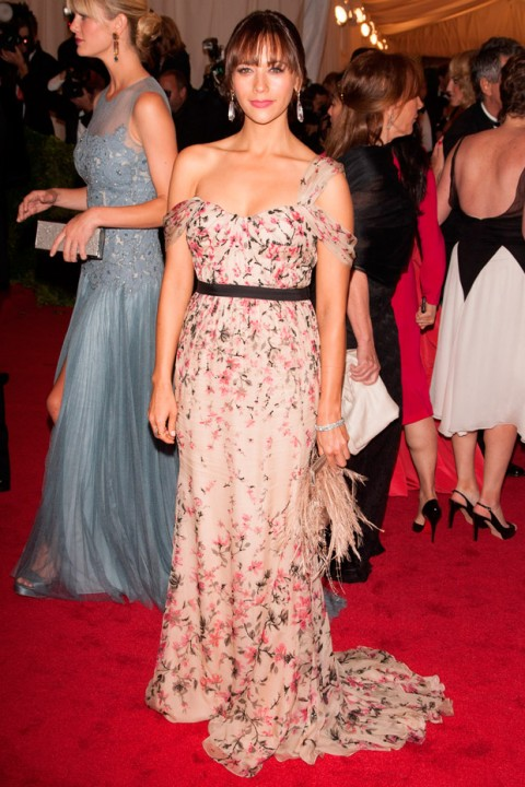 Rashida Jones at the Met Ball 2012 - Costume Institute Gala - Marie Claire