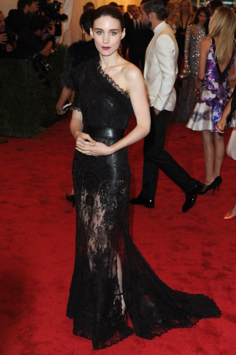 Rooney Mara at the Met Ball 2012