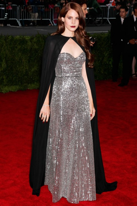 Lana Del Rey at the Met Ball 2012 - Costume Institute Gala