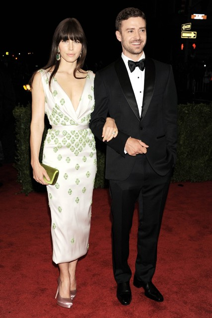 Jessica Biel and Justin Timberlake