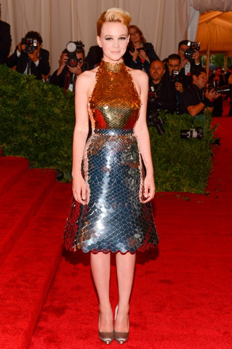 Carey Mulligan at the Met Ball 2012