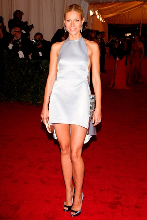 Gwyneth Paltrow at the Met Ball 2012