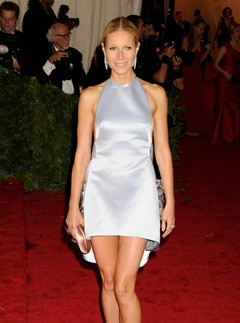 Gwyneth Paltrow in Prada at the Met Ball 2012