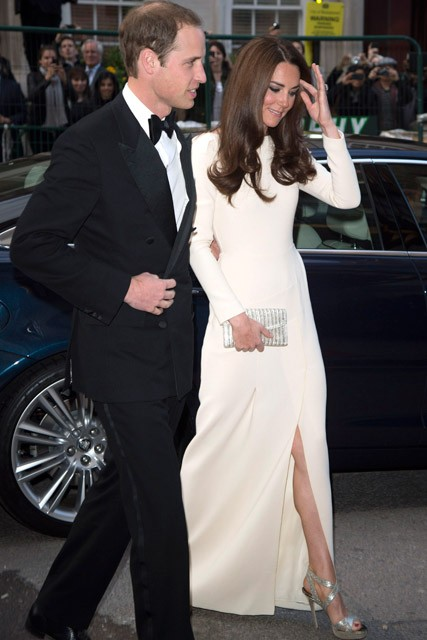 Prince William and Kate Middleton dazzle at gala dinner