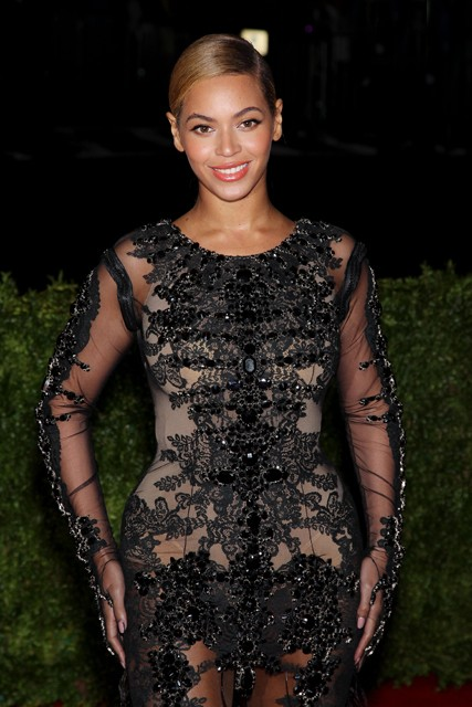 Beyonce Met Ball 2012