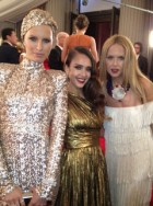 Behind the scenes at the Met Ball 2012