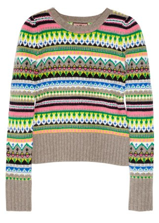 Juicy Couture fair isle jumper, £160